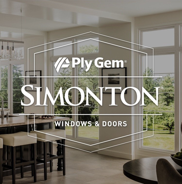 Simonton Windows & Doors with Simonton windows in background