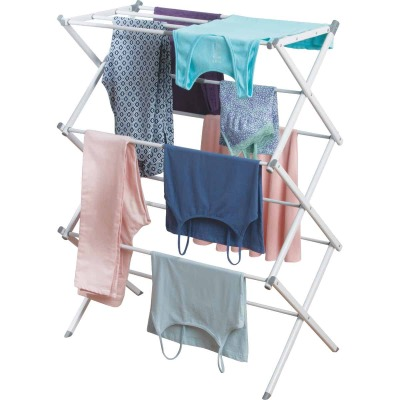 InterDesign Wood 3 Tier Dry Rack