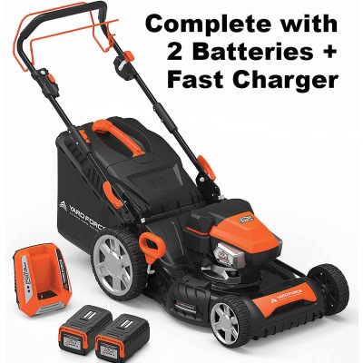 Yard Force 22 In. Self-Propelled Electric Lawn Mower