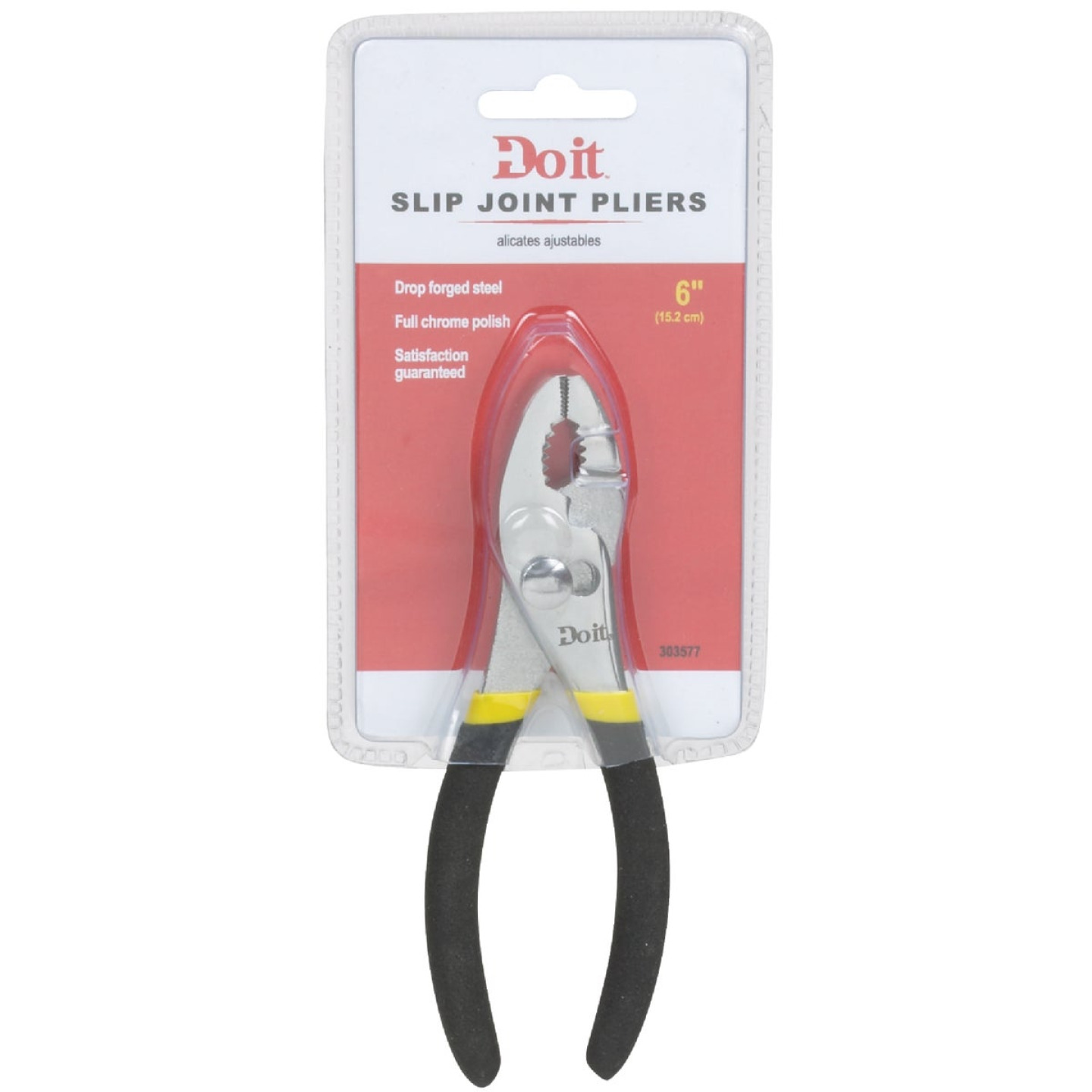 Do it 6 In. Slip Joint Pliers Image 2