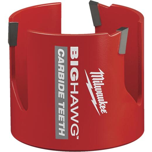 Milwaukee Big Hawg 3 In. Carbide-Tipped Hole Saw
