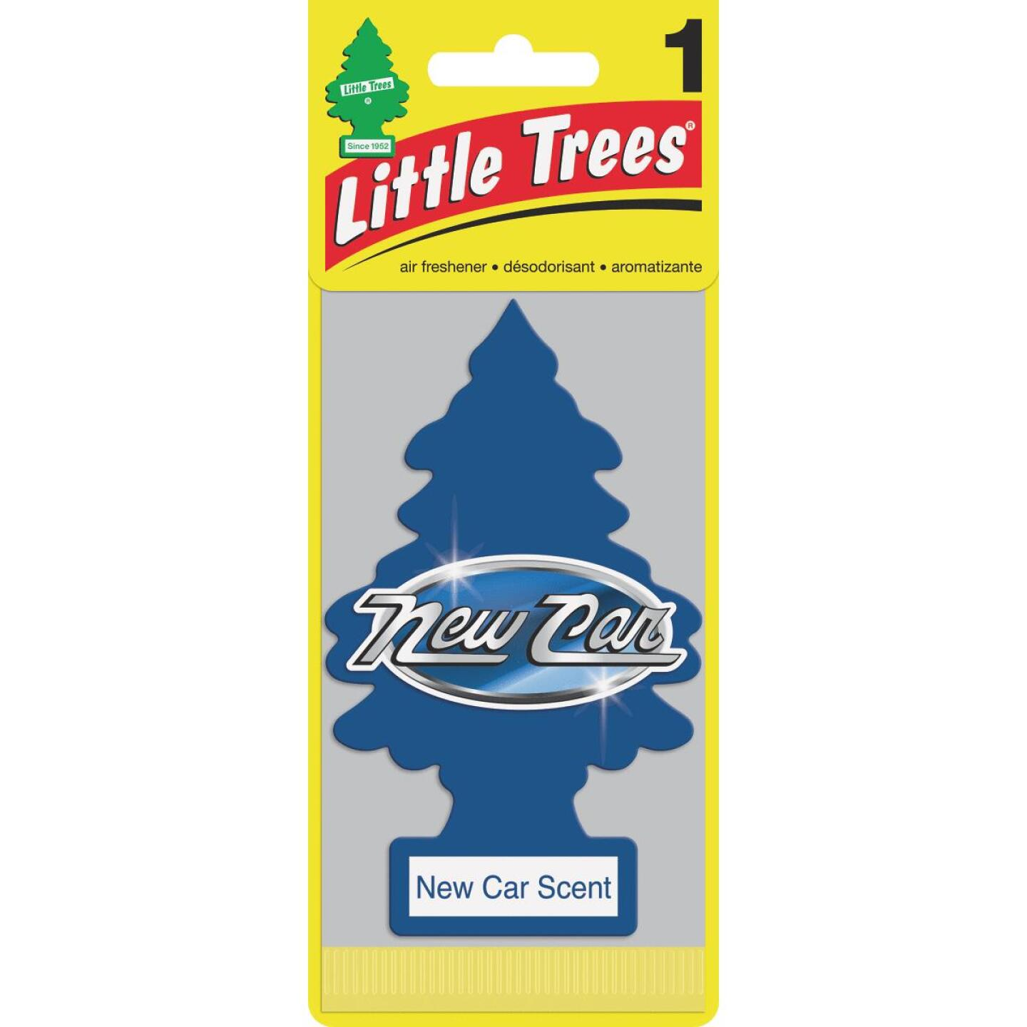 Little Trees Car Air Freshener, New Car Scent Image 1