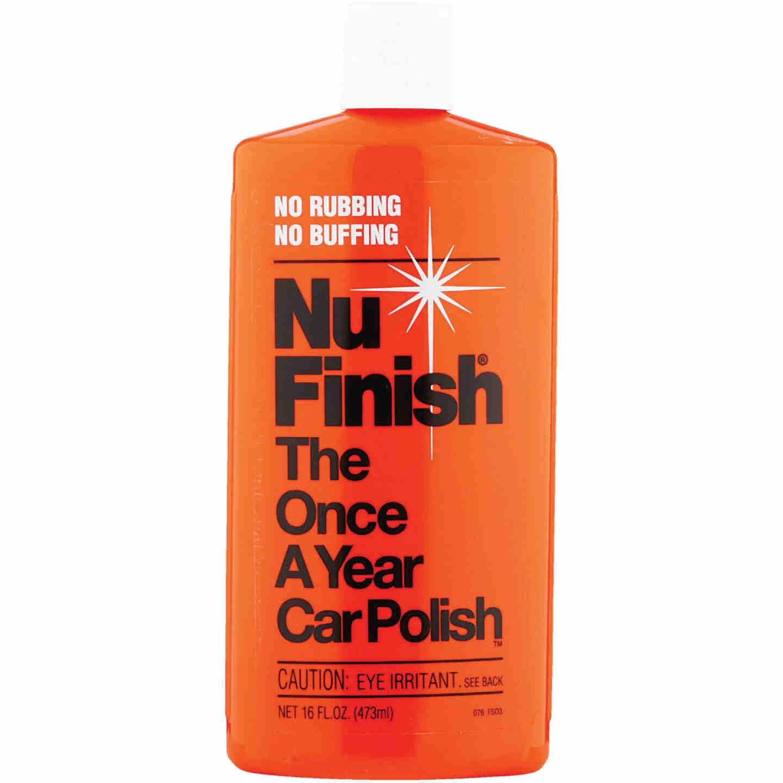 Nu Finish 16 Oz. Liquid Car Wax Image 1