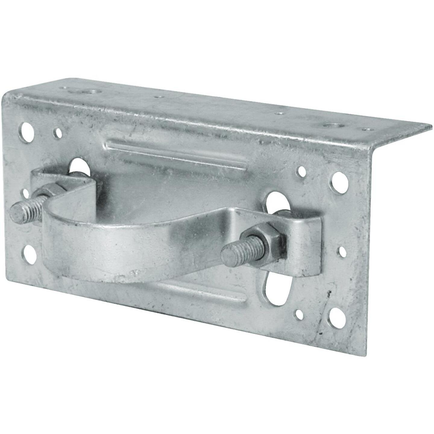 Midwest Air Tech Adjustable 2-3/8 in. Steel Fence Post Adapter Clamp Image 1