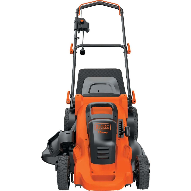 Black & Decker 20 In. 13A Push Electric Lawn Mower Image 9