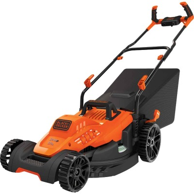 Black & Decker 17 In. 12A Push Electric Lawn Mower