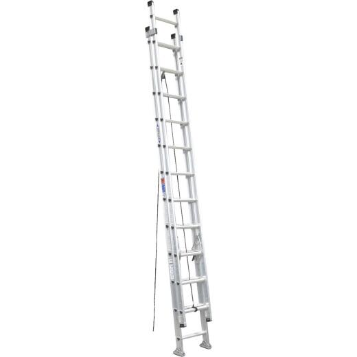 Werner 24 Ft. Aluminum Extension Ladder with 300 Lb. Load Capacity Type IA Duty Rating