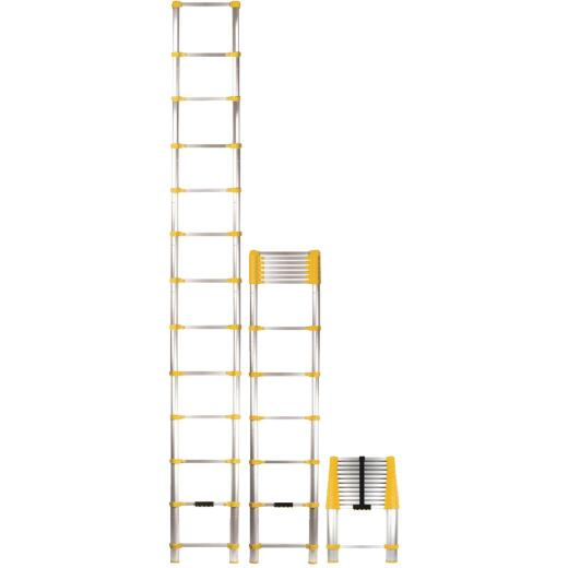 Xtend+Climb 12-1/2 Ft. Aluminum Extension Telescoping Ladder with 225 Lb. Load Capacity Type II Ladder Rating